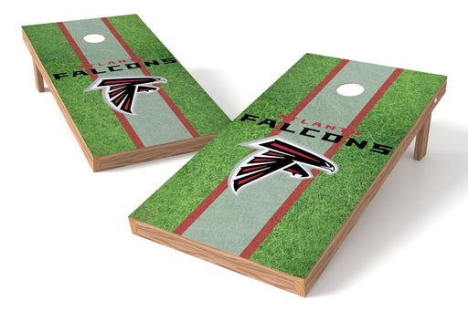 Atlanta Falcons 2x4 Cornhole Board Set - Field