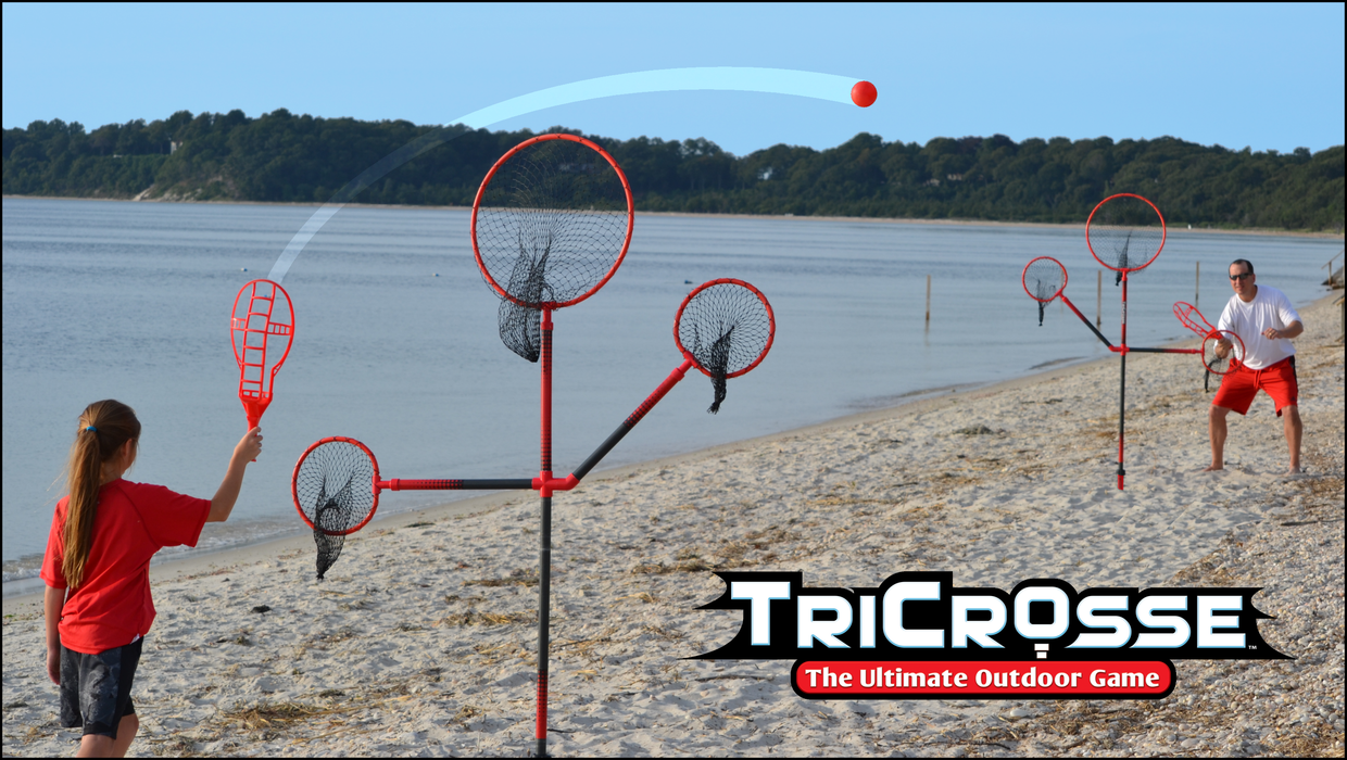 TriCrosse Tossing Game