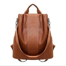 Fashion women anti-theft backpack hight quality vintage backpacks female larger capacity school shoulder bag