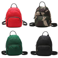 Women Nylon Mini Backpack Girls Fashion Camouflage School Bag Ladies Multifunction Travel Small Rucksack Feminina Mujer