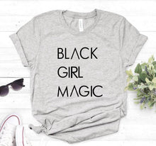 BLACK GIRL MAGIC Print Women tshirt Cotton
