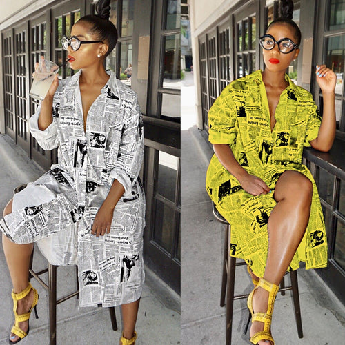 2019  autumn summer dress boho loose dresses fall long sleeve print african lasy clothes plus size