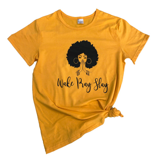 Wake Pray Slay T-Shirt Graphic