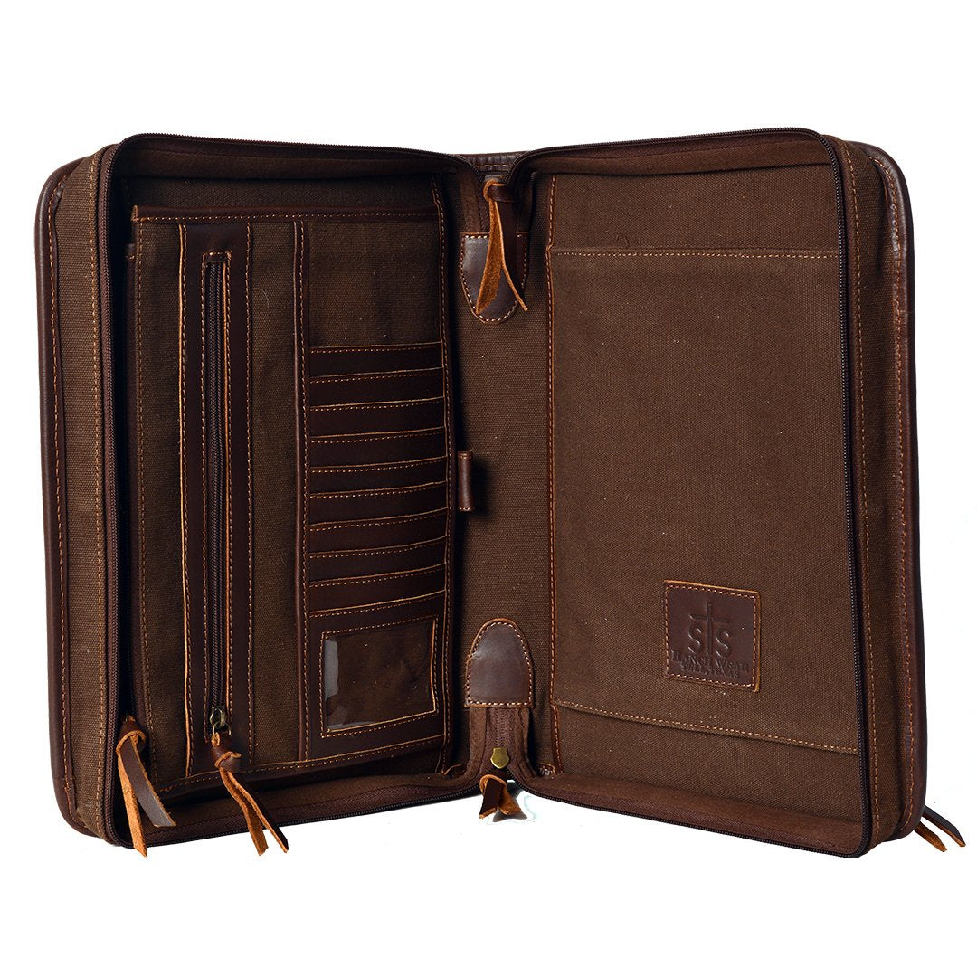 STS Leather Binder