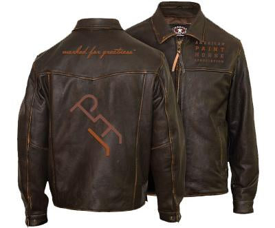 Unisex Marked For Greatness Leather Jacket