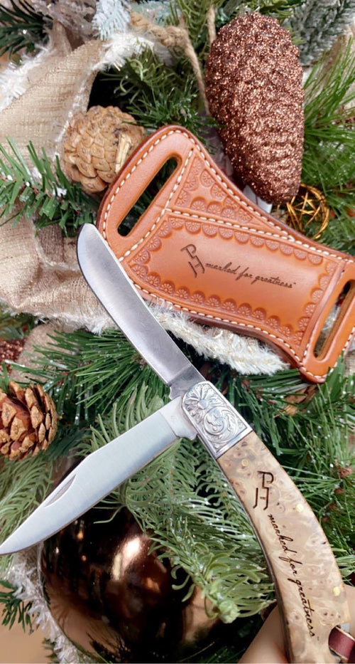 Pocket Knife and Sheath