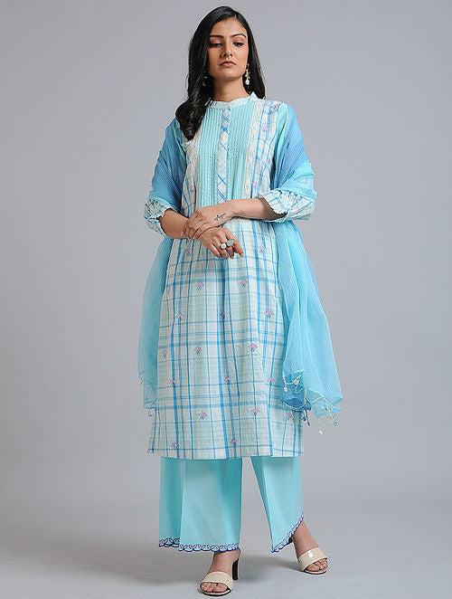 Blue Water Kurta