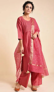 Coral jewel Kurta