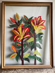 Tiger Lilies framed Artwork