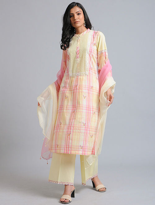 Lime and lemon Kurta