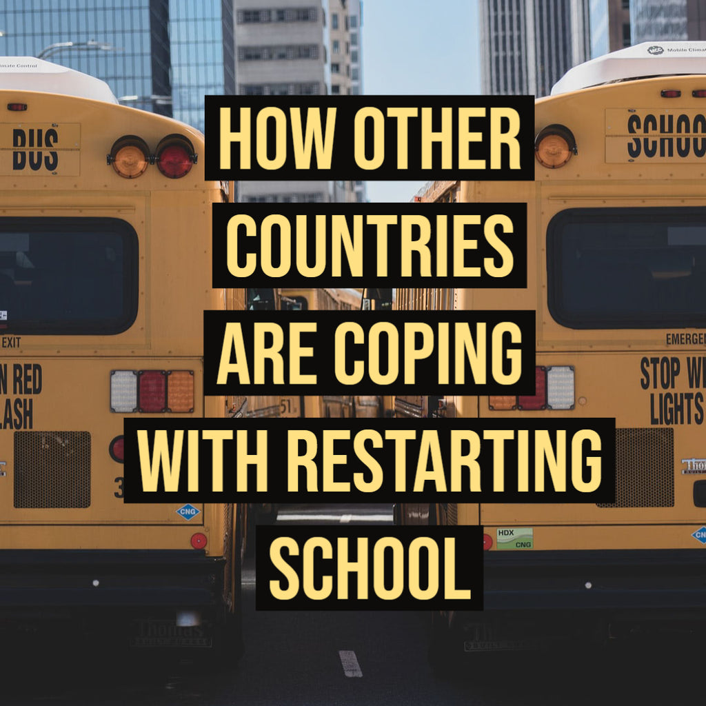 How Other Countries Are Coping with Restarting School