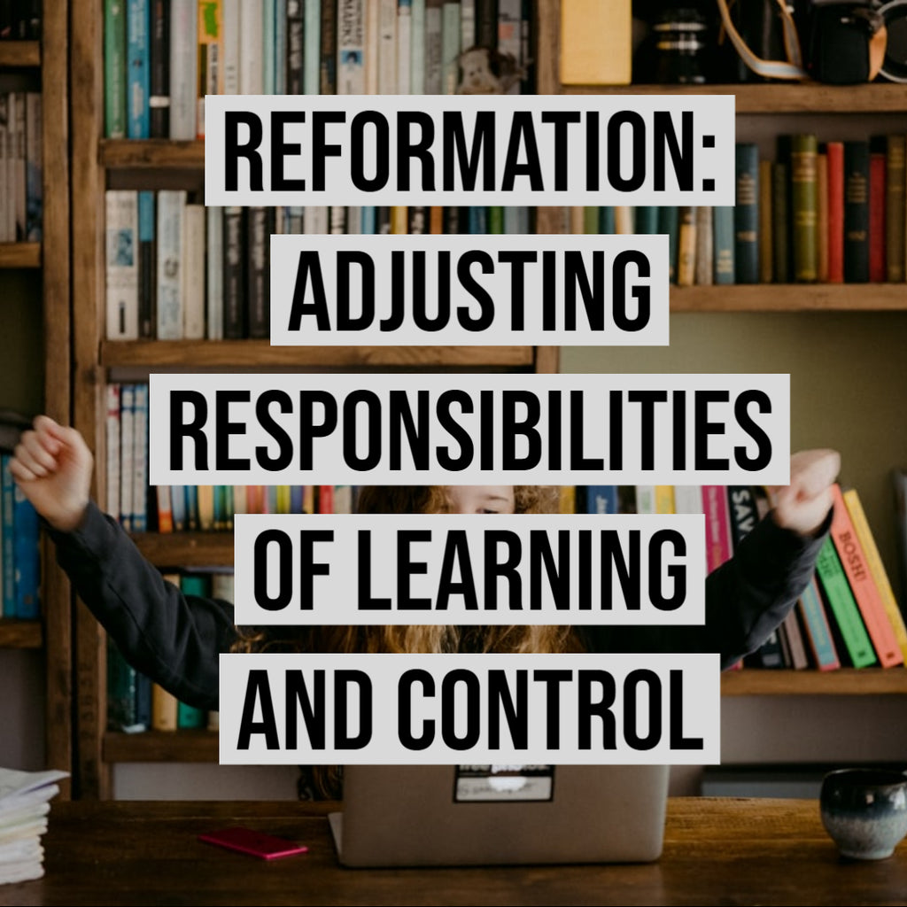Reformation: Adjusting Responsibilities of Learning and Control