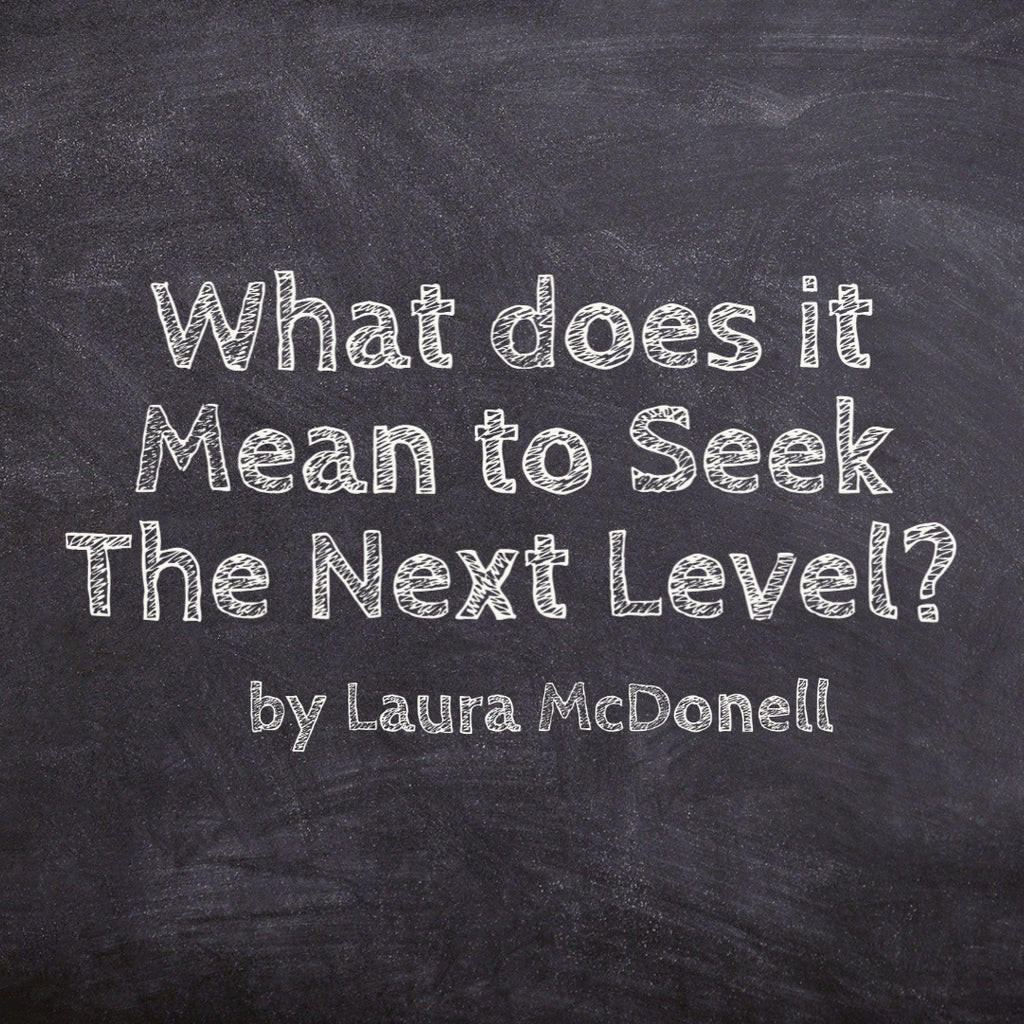 What does it Mean to Seek The Next Level? by Laura McDonell