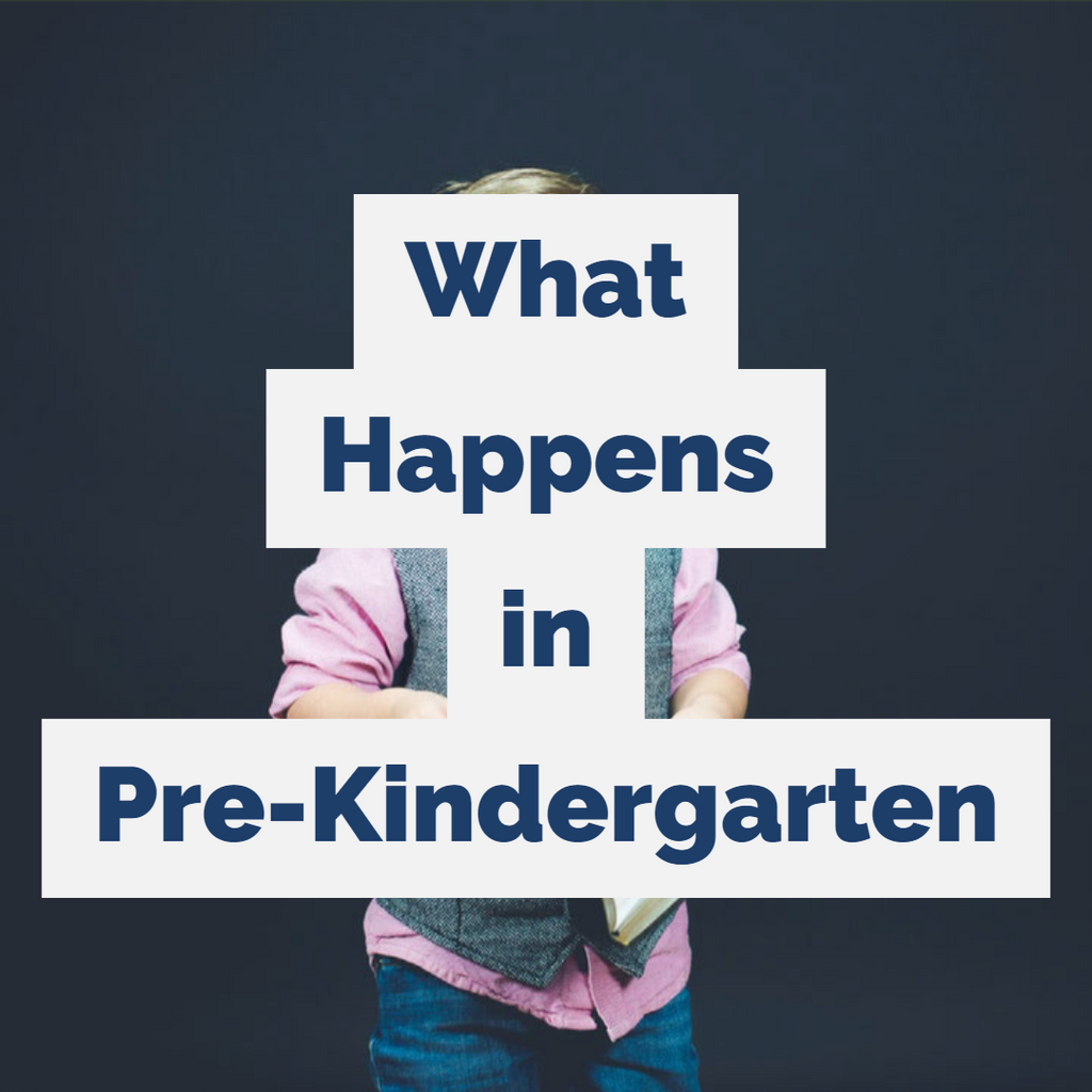 What Happens in Pre-Kindergarten