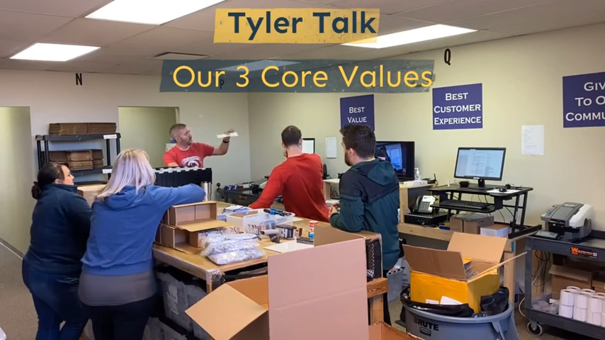 Tyler Talks - Our 3 core values