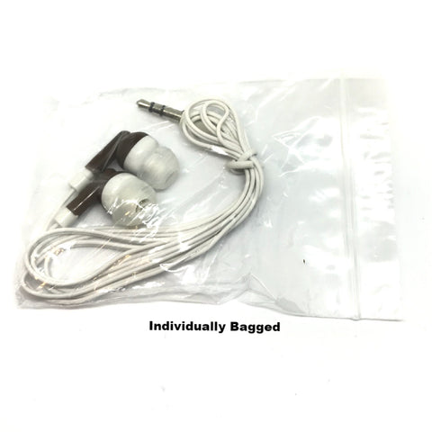 Image of Brown Stereo Earbud Headphones