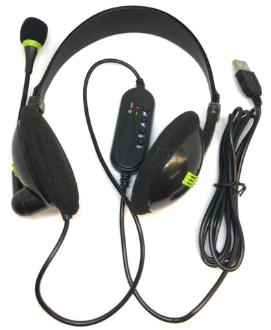 USB Headphones With Microphone