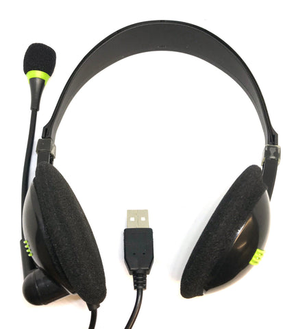 USB Headphones With Microphone - Ships December 2020