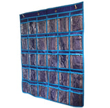 Image of Wall/Door Hanging 30 Earbud Organizer - Holds 30 Earbuds