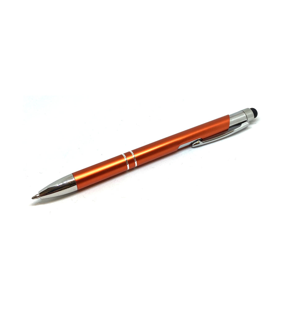 Touch Stylus 2-in-1 With Pen - Orange