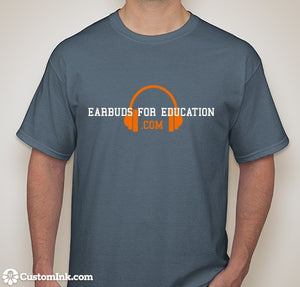 Earbuds for Education TShirt