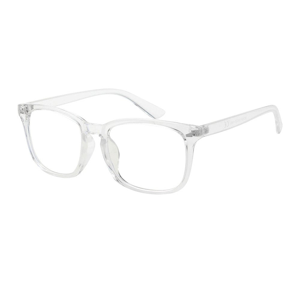 Adult Blue Light Blocking Glasses - Clear Frame - Reduce Electronic Eye Strain