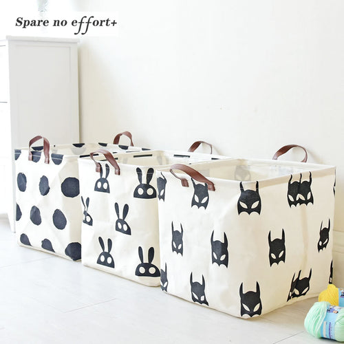 Folding Basket For Baby Toys or Laundry - Wishfulwall