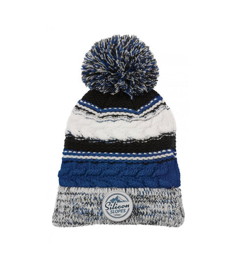 Silicon Slopes Pom Beanie
