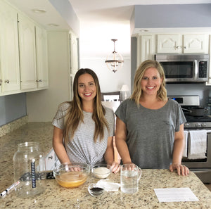 YEABUCHA Sisters Brittany & Brooke demonstrate the easy step by step process of home brewing Kombucha. Order your DIY kit at www.yeabucha.com