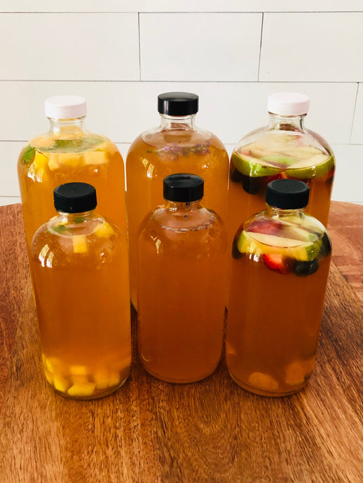 A Taste of Summer! Fresh Kombucha Flavors you Must Try