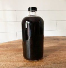Easy kit for making elderberry syrup at home