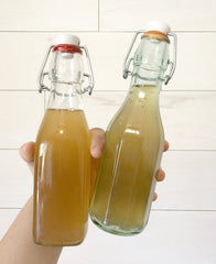 Learn how to make a kombucha vinegar with kombucha that brewed too long by YEABUCHA