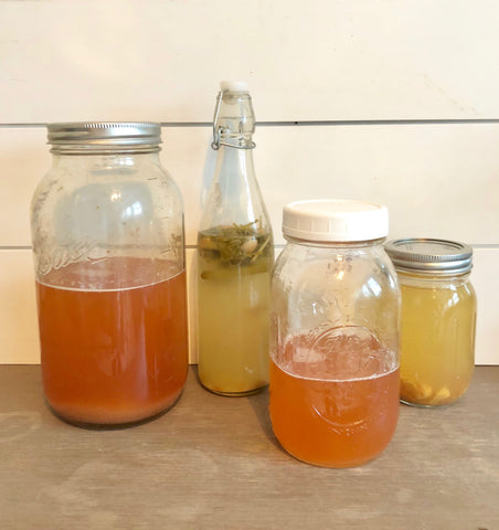 Recipe for making kombucha shrubs by YEABUCHA