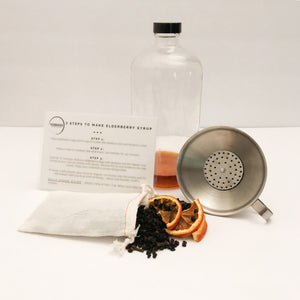 DIY Organic Elderberry Syrup Kit