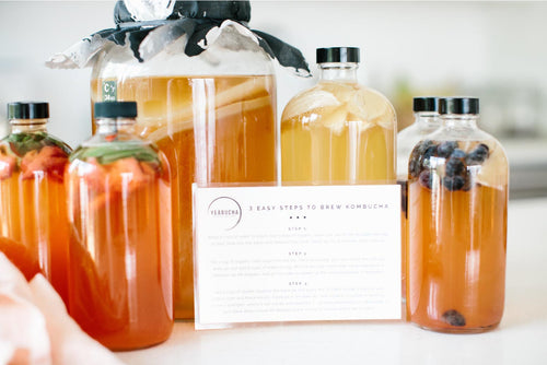 The YEABUCHA Method: 3 Simple & Easy steps to home brew kombucha PLUS community access