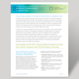Fact Sheet on National Quality Partners Playbook™: Antibiotic Stewardship in Acute Care