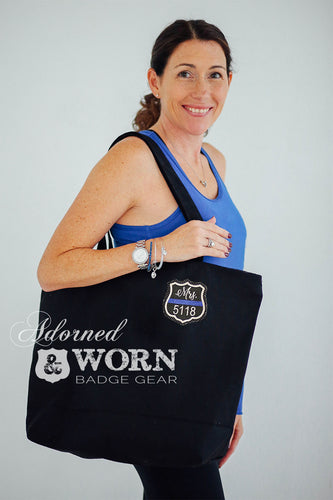 Custom Badge | Canvas Tote Bag