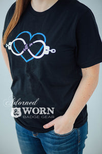 All In Infinity Heart | Unisex T-Shirt