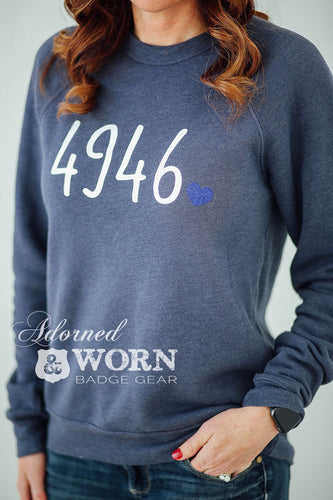 Badge Number | Crewneck Sweatshirt