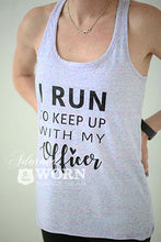 I Run | Twist Back Tank