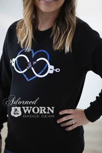 All In Infinity Heart | Crewneck Sweatshirt