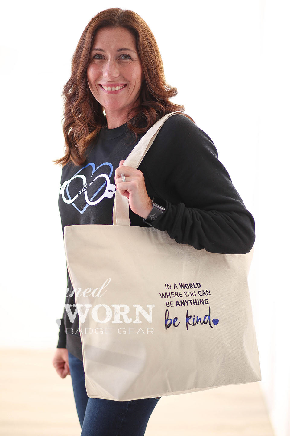 Be Kind | Canvas Tote Bag