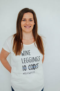 Wine, Leggings, 10 Codes | Modal T-shirt