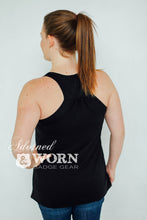 Badge Number | Loose Racerback Tank