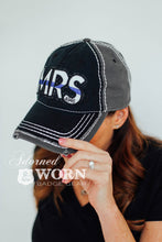Mrs Large Patch Hat