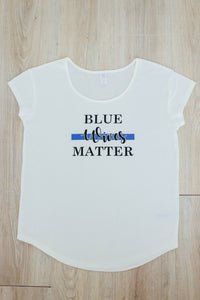 Blue Wives Matter | Modal T-shirt