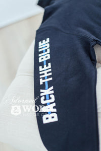 Back the Blue | Adult Full Zip Hooded Sweatshirt