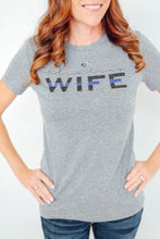 Blue Line Wife | Women's Cut T-Shirt
