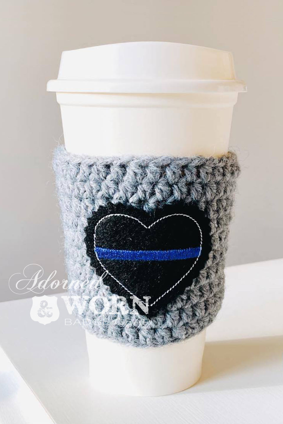 {READY TO SHIP} Coffee Cozy | TBL Heart