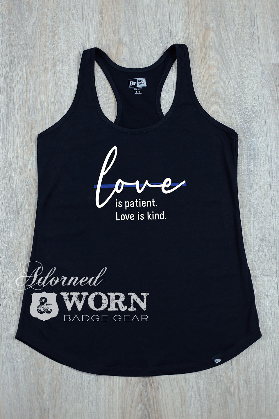 Love is Patient. Love is Kind. | Racerback Tank
